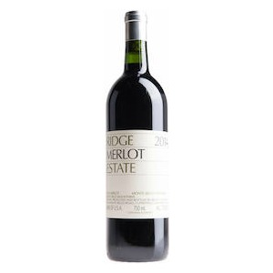 "Santa Cruz Mountains AVA ""Estate"" Merlot"